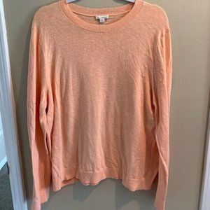 Gap Brand Long Sleeved Peach Sweater-Size XXL